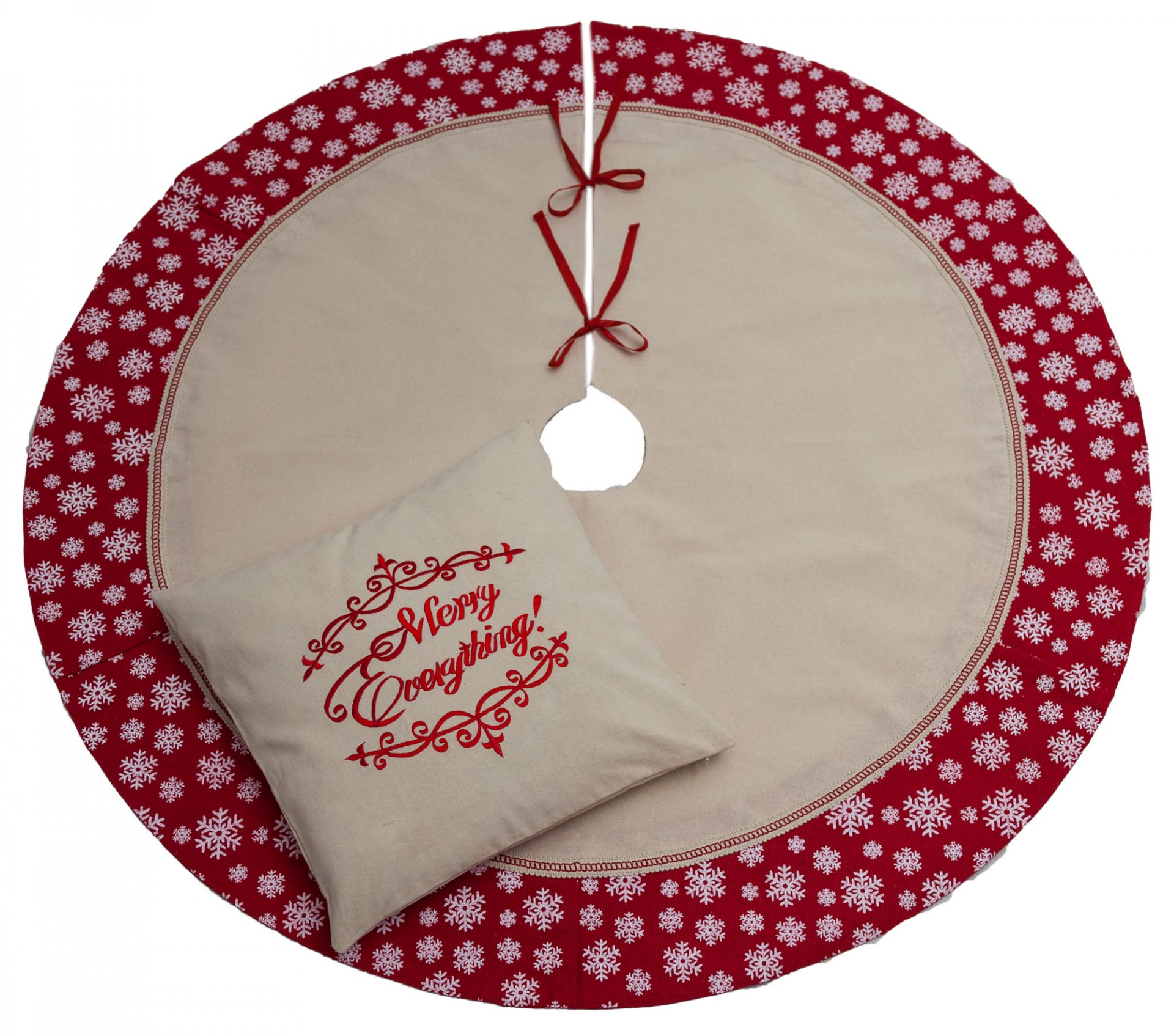 Merry Everything cushion